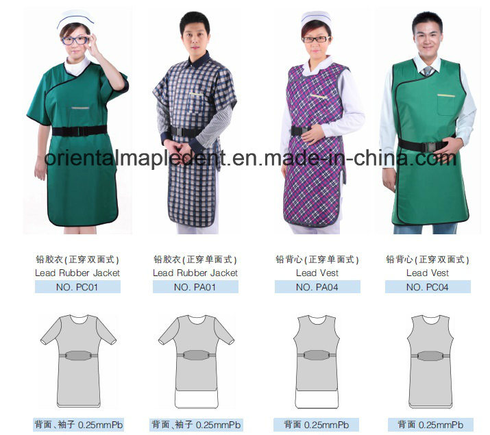 Dental X-ray Protective Lead Gown Apron for Kids or Adults