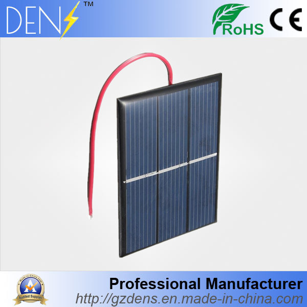 0.65W 1.5V DIY Solar Charger Polycrystalline Solar Cell