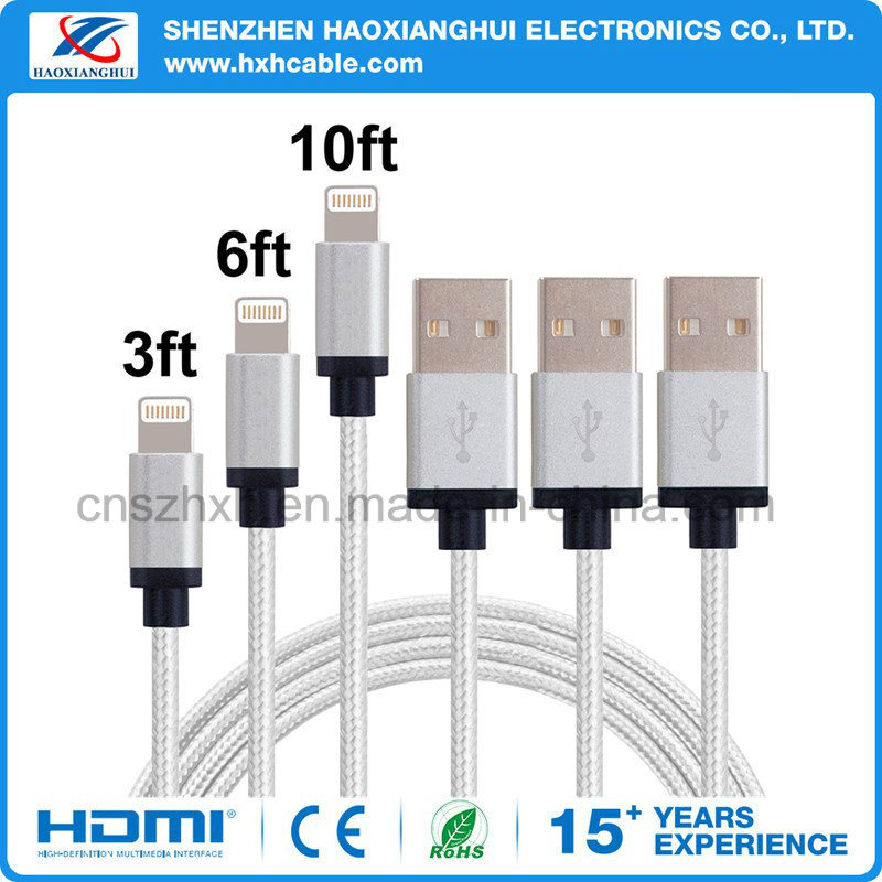 USB Lightning Cable for iPhone5 iPhone6 iPhone7