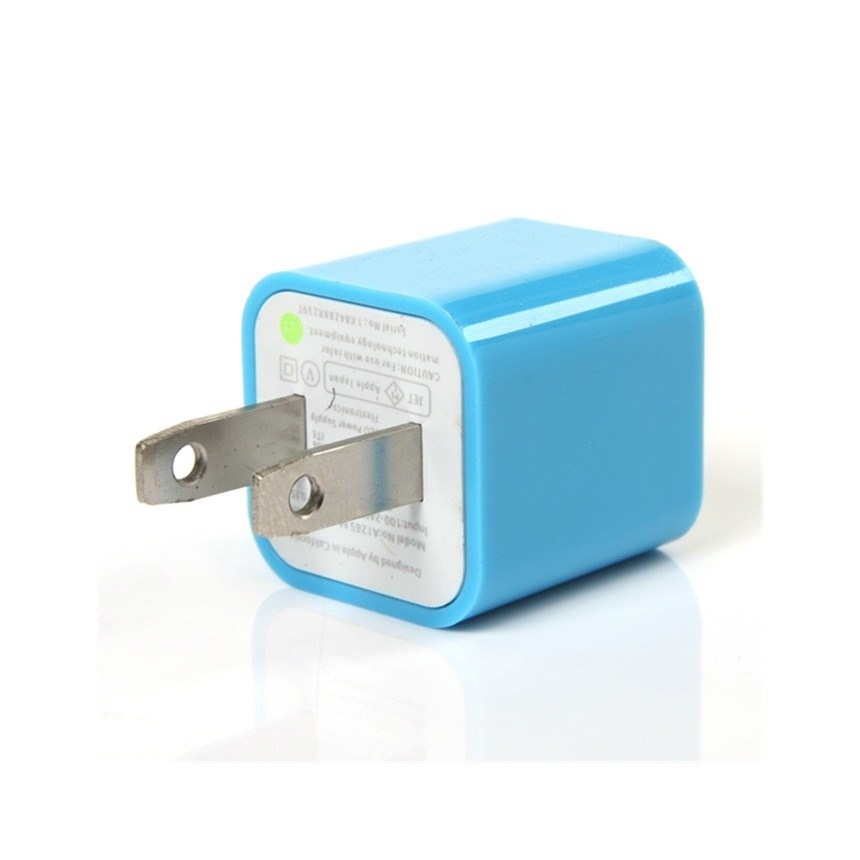 Us Plug USB Wall Charger for iPhone