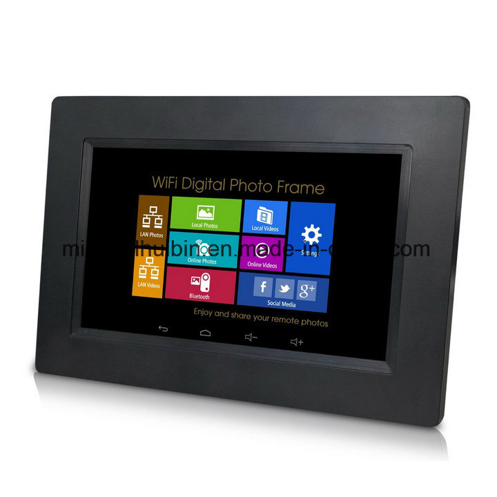 Customized 7 Inch LCD Touchscreen WiFi Digital Photo Frame (A7001T)