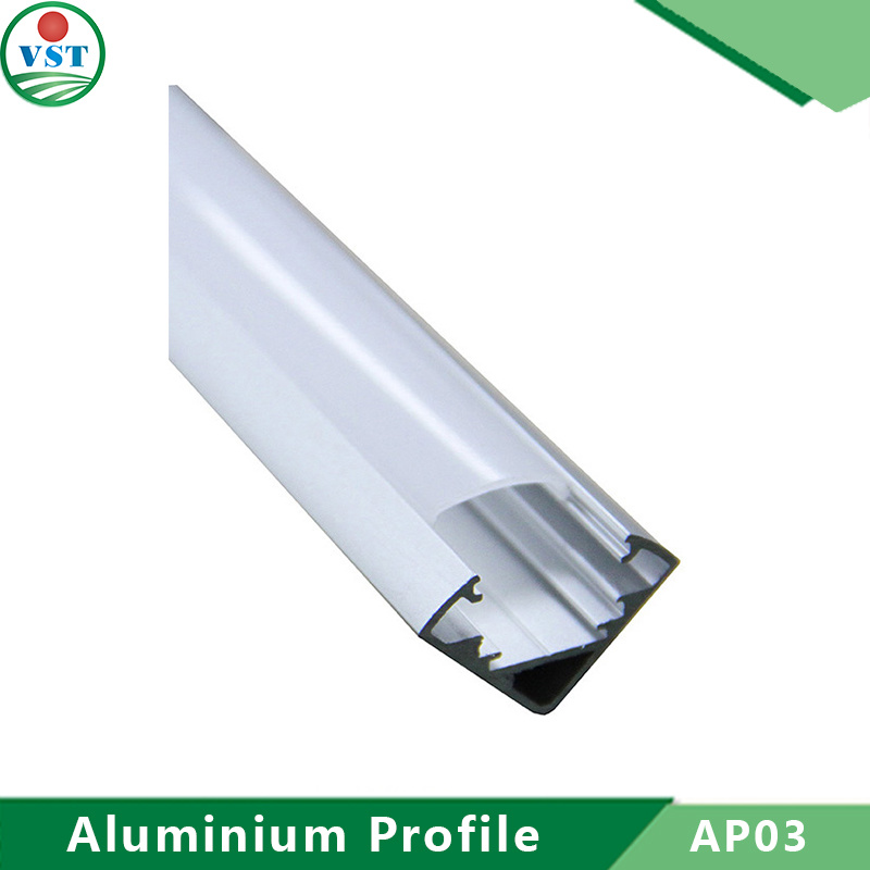 European Style Aluminium Profile Housing for LED Strip Light
