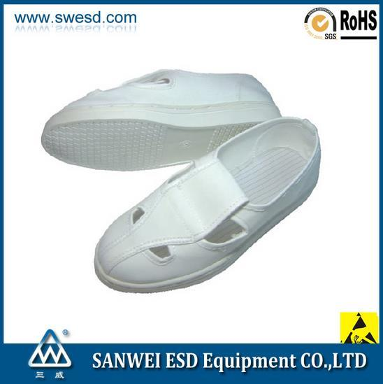 ESD Spu Foaming Antistatic Cleanroom Shoe (3W-9107)