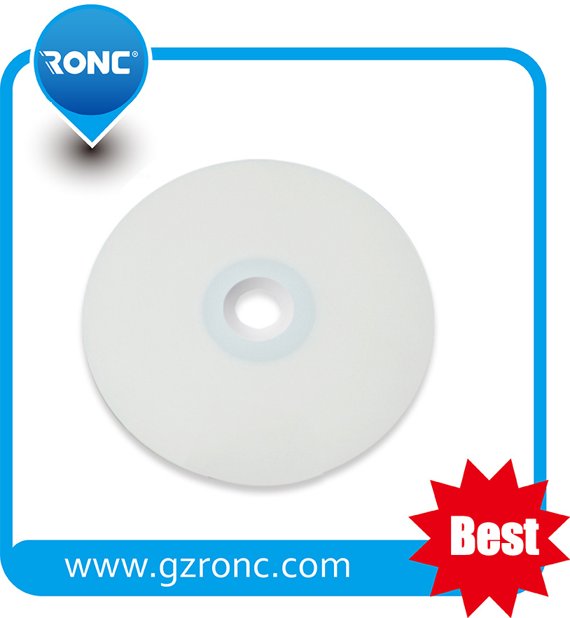 Free Sample 52X 700MB White Inkjet Blank Printable CD-R