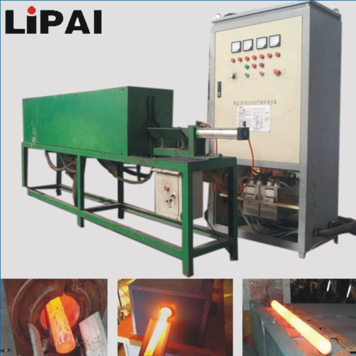 Medium Frequency Induction Heating Forging Furnace for Metal