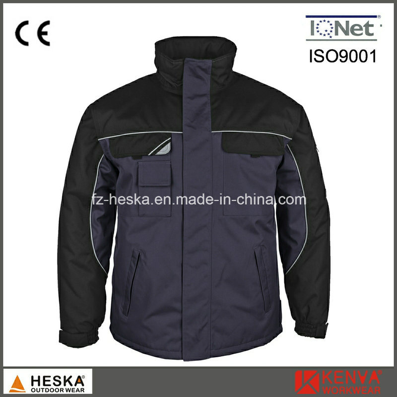 Custom Workwear Mens Waterproof Jacket Winter Parka