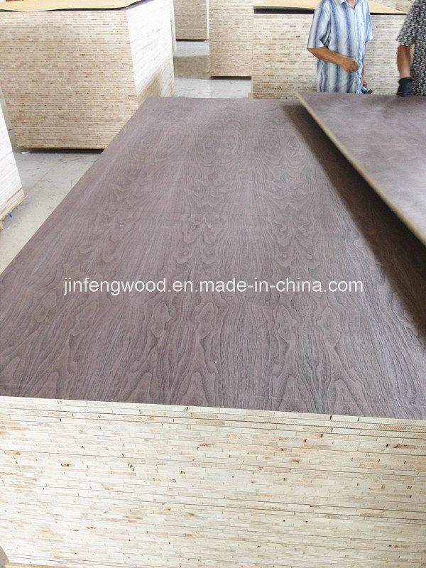 American Black Walnut Veneer Blockboard/Veneer MDF/Veneer Plywood