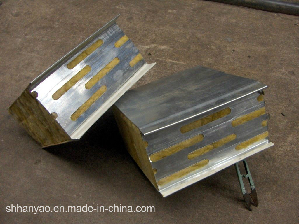 Fireproof Metal Panels : China sound insulated fireproof steel rock wool panels
