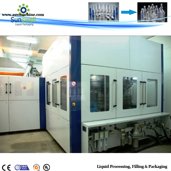 Full-Automatic Pet Bottle Blow Molding Machine (0.1-2L)