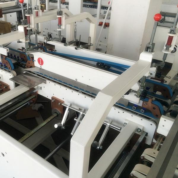 Shh-E Model Automatic Corrugated Box Folder Gluer Machine with Bottom Lock