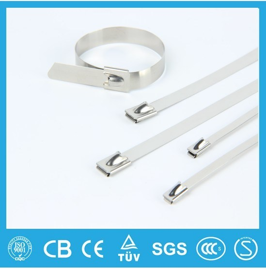 Ball Lock Stainless Steel Cable Tie Self Locking Type