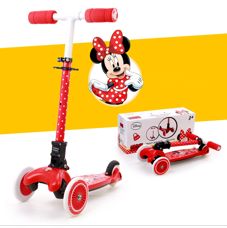 Kick Scooter with 3 PVC Wheel (YV-025)