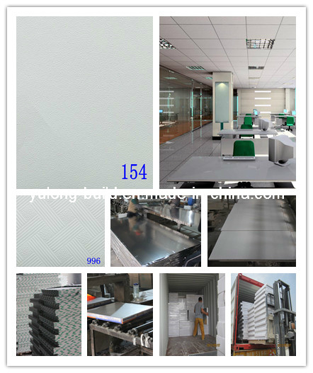 PVC Laminated Gypsum Ceiling Panel