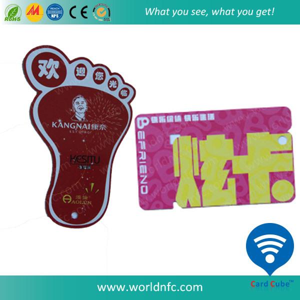 Non-Standard Hotel Key PVC Dual/Combo Card