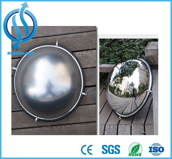360 Degree Driveway Blind Spot Full Half Dome Convex Mirror