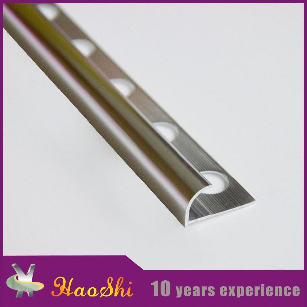 Round Open Type Aluminum Tile Edge Trim (HSRO-260)