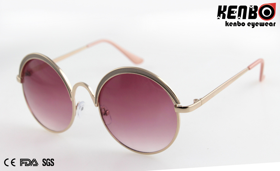 New Coming Round Frame Sunglasses for Accessory, Km15325