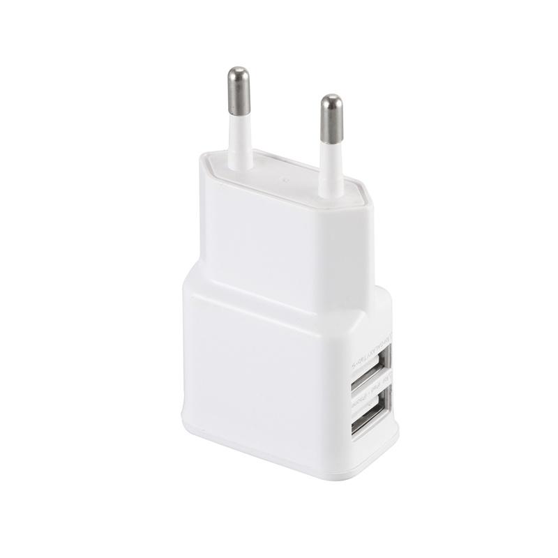 EU/Us Plug Universal Double USB Travel Charger for Samsung