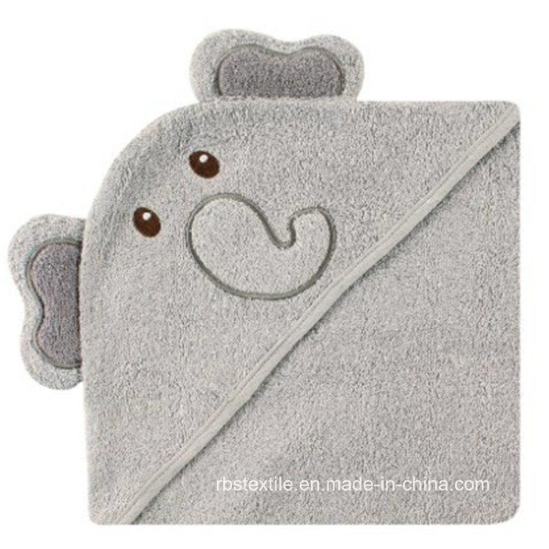 Cotton Animal Design Hooded Bath Towel for Baby /Kid