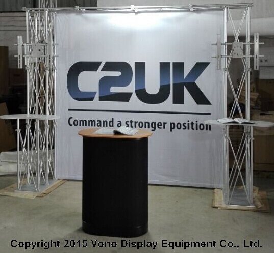 Exhibition Modular Truss Display TV Stand Trade Show Products