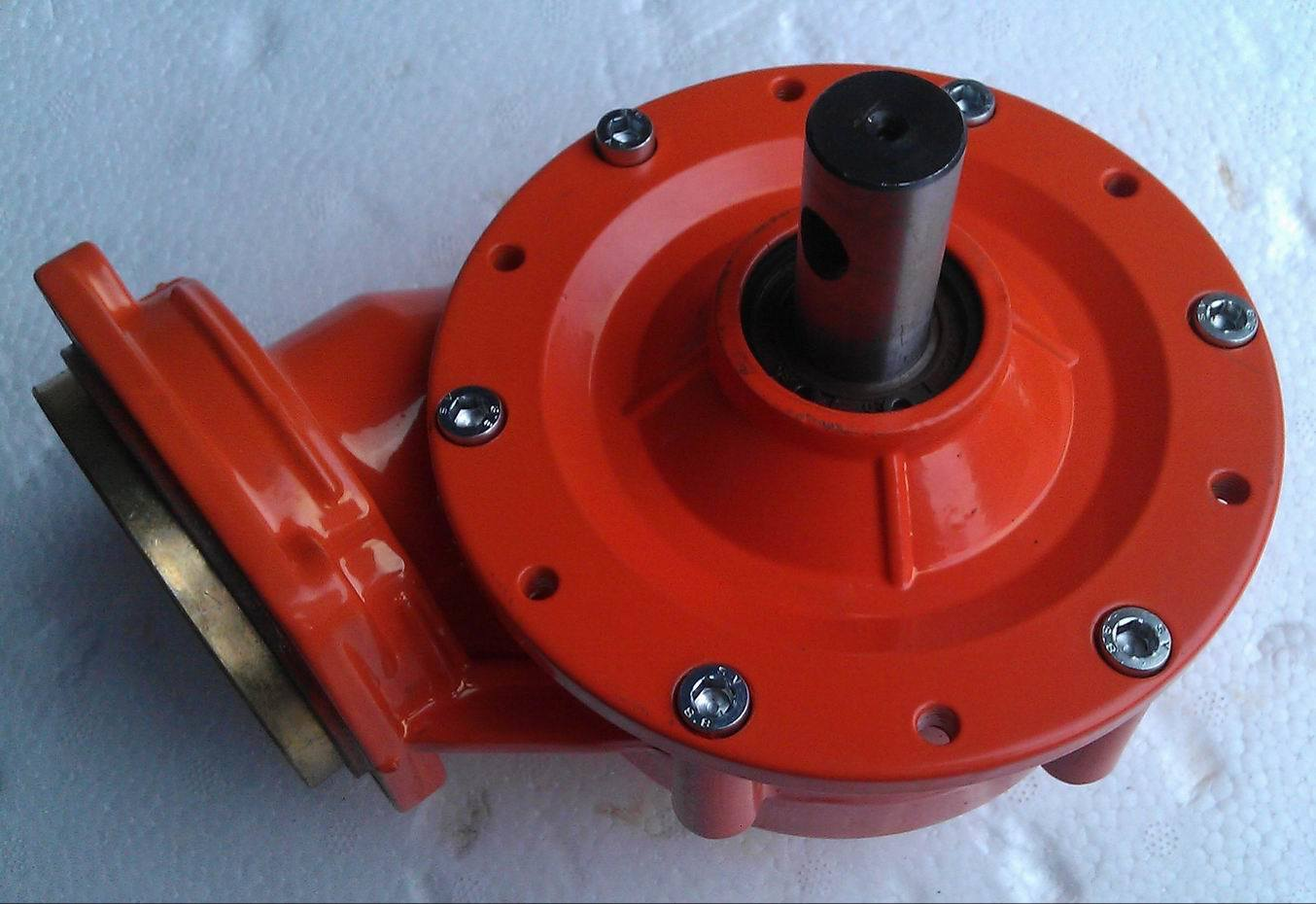 Earth Drill Worm Type Gearcase Gearbox