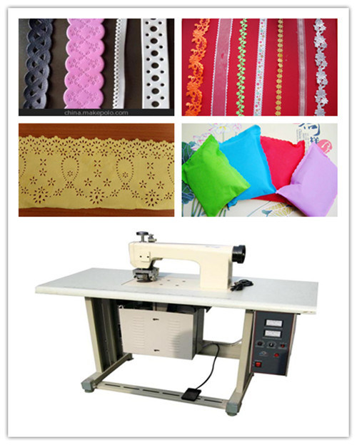 Ultrasonic Lace Seamless Sewing Machine for Non Woven Fabrics Lace Making and Sewing, Ce Approved
