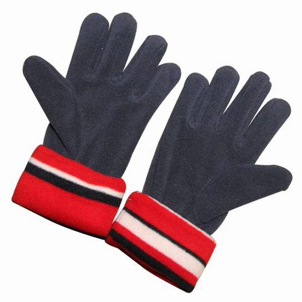 Kids Fashion Polar Fleece Knitted Winter Warm Gloves (YKY5433)