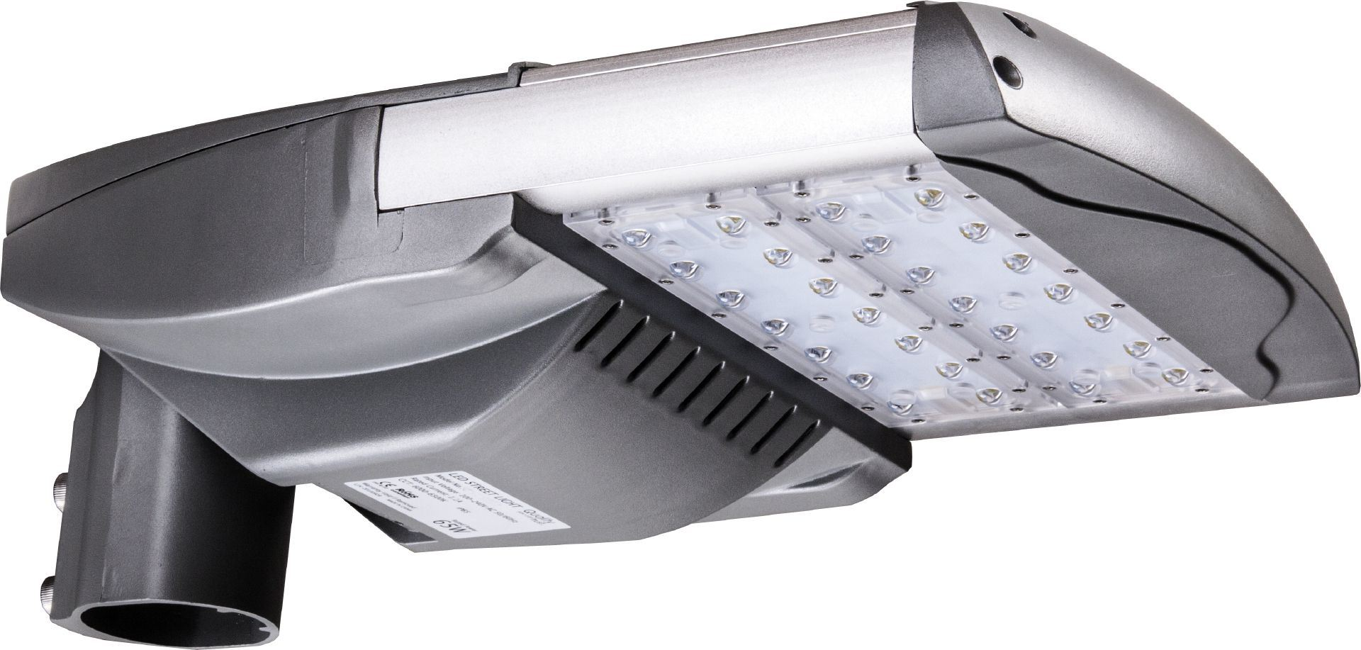 IP66 Module Designed 65 Watts Solar LED Street Light with UL Dlc Optical Sensor