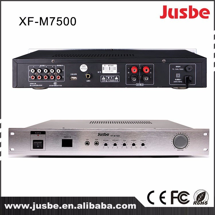 Jusbe Xf-M7500 Integrated Instrument Tube Power Amplifier
