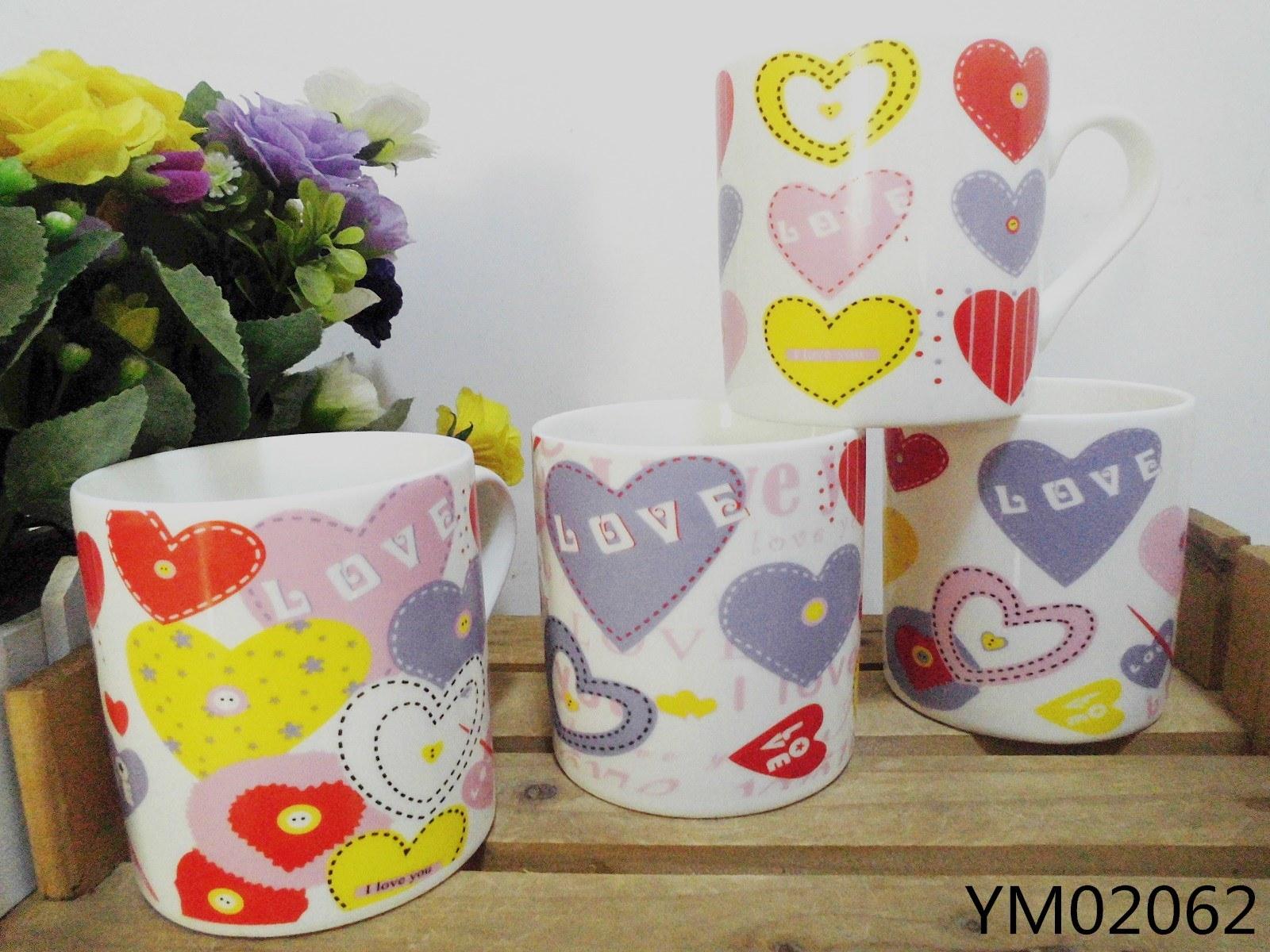 14 Oz Ceramic Nescafe Mugs