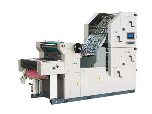 Zx47-56 Dm-4py Double Color Bill Printing, Numbering and Collating Machine