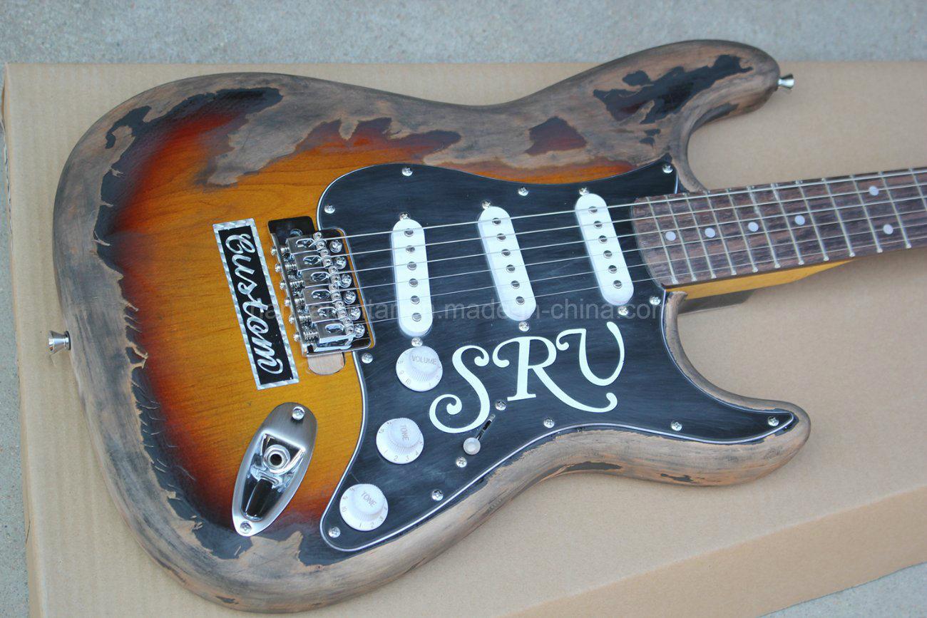 Hanhai Music/Retro St Style Electric Guitar (SRV Model)