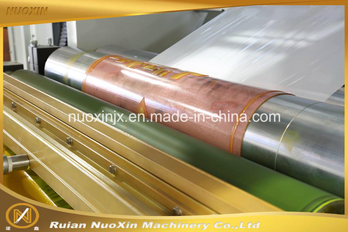 Nuoxin 4 Colour Plastic Film Flexography Printing Machine