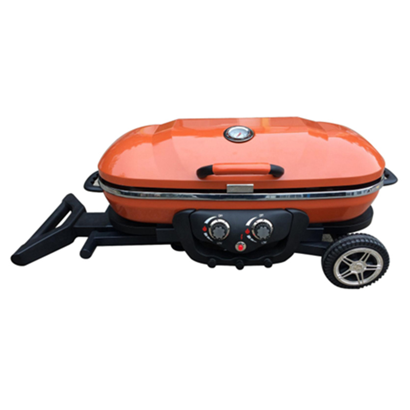 Outdoor Portable Foldable Camping Gas Barbecue Grill BBQ
