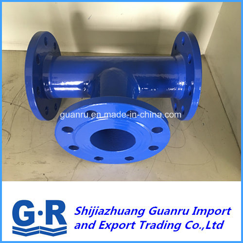 Ductile Cast Iron Fitting with All Flanged Tees