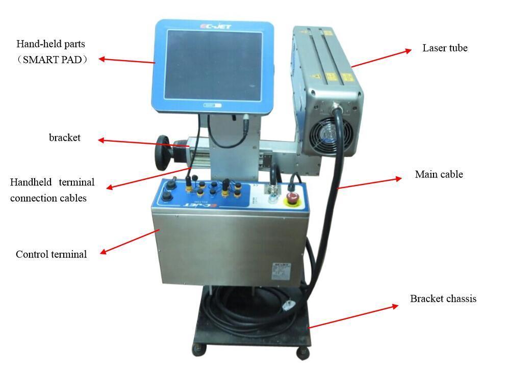 Online Type Laser Marking Machine for Plastic Bottle or Production Line
