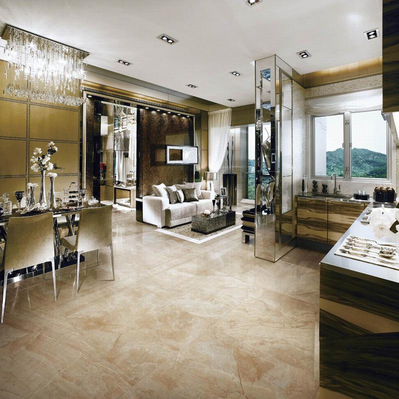 The Sahara Marble Tile Romanio High-End Royal Luxury Dining Living Room