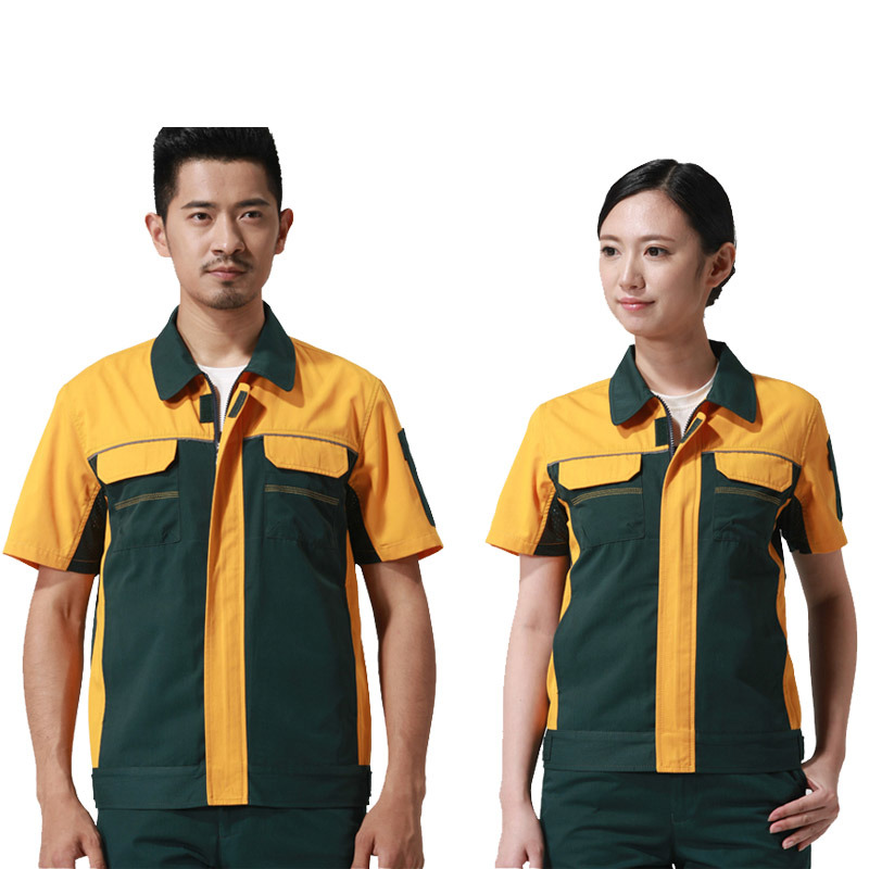 Customized Design Working Wear Clothes for Industrial Worker Safety Uniforms