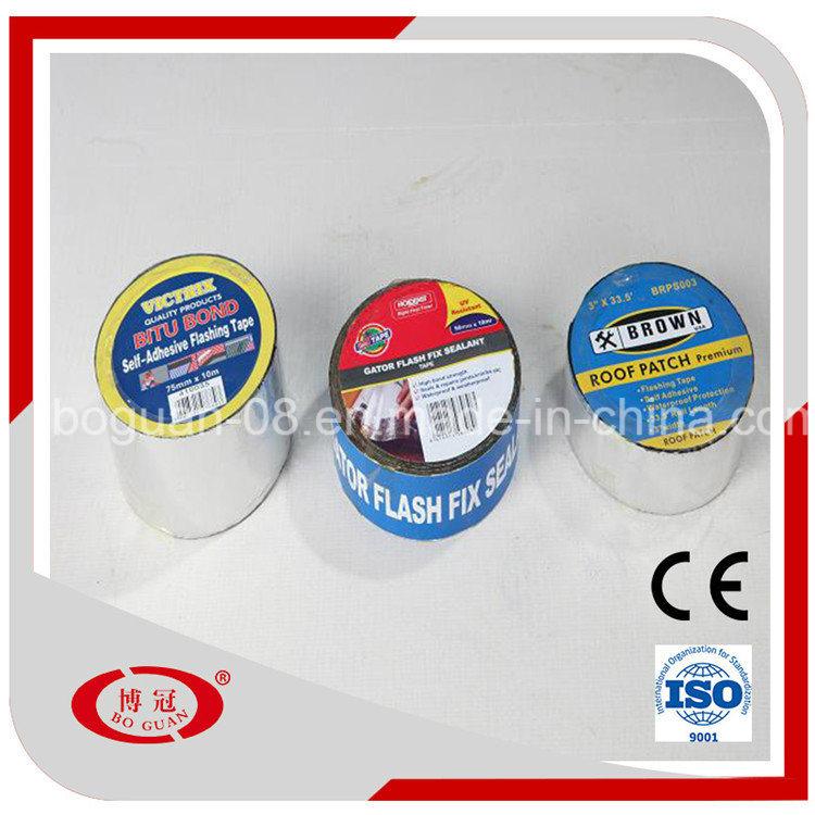 Bitumen Self Adhesive Waterproofing Flashing Tape/Flashing Band