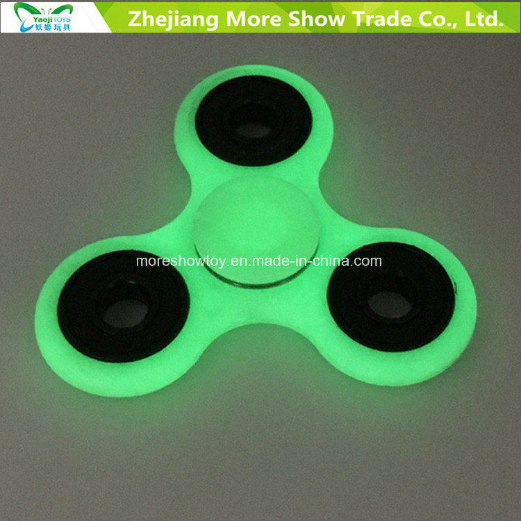 Hotsale Glow in Dark Fidget Hand Spinner Stress Relief Toys