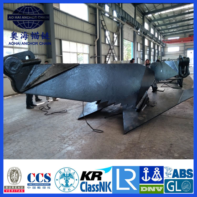 Hy-14 Offshore Mooring Anchor with ABS/CCS/Lr/Kr