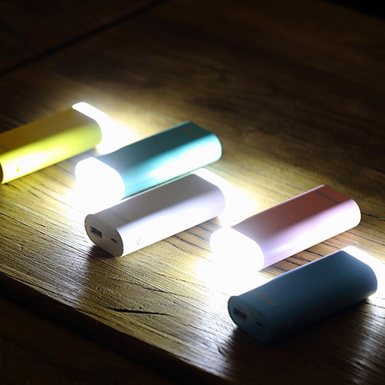 2017 Hot Lithium Battery 5200mAh Portable Power Bank LED
