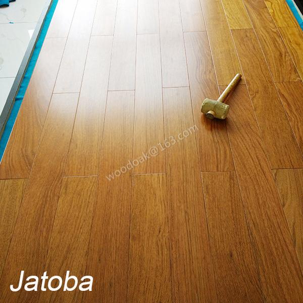 Jatoba Hardwood Flooring Solid Jatoba Wood Flooring with Natural Color