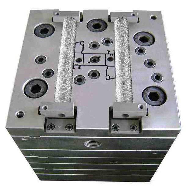 PVC WPC Profile Extrusion Mould, PVC Mould, Plastic Mould, UPVC Profile Mould