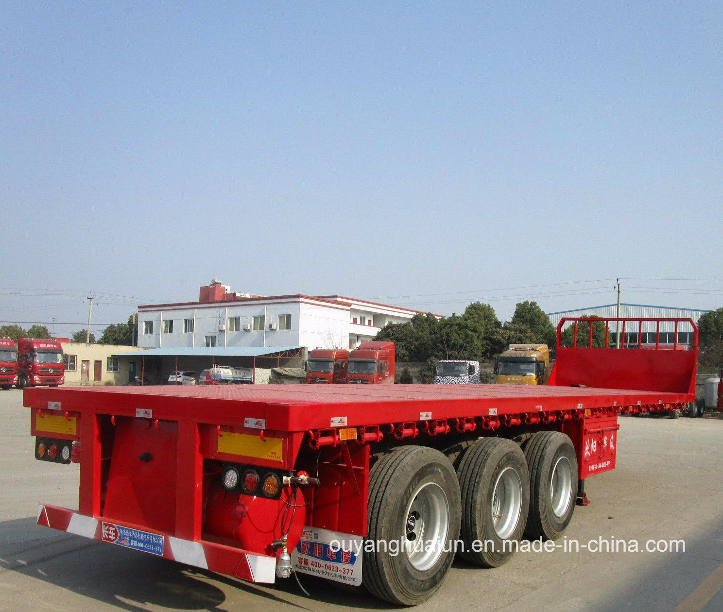 10.5 Meters Flatbed Semitrailer