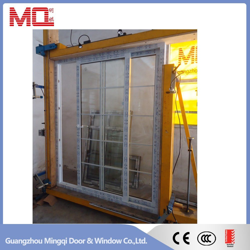 Plastic Sliding Door with Mosquito Net