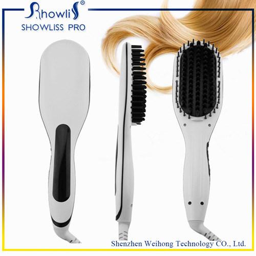 Manufacturer Hot Brush Straightening Comb Ionic Straightener