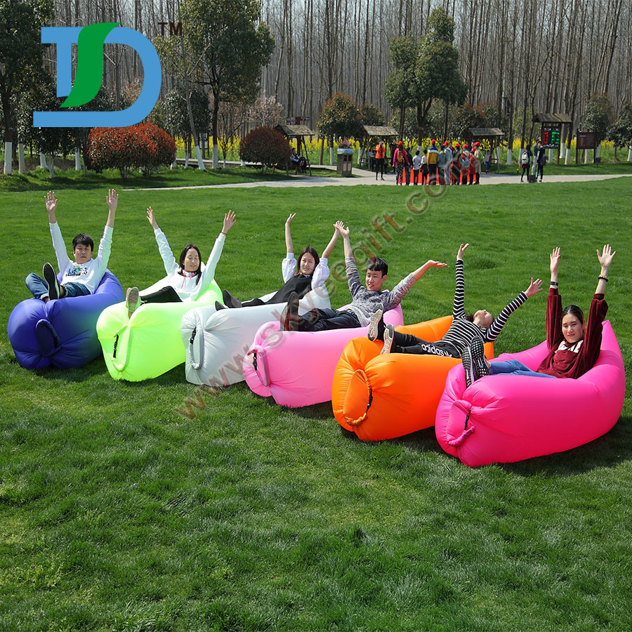 Outdoor Travel Camping Inflatable Lazy Air Laybag Sofa