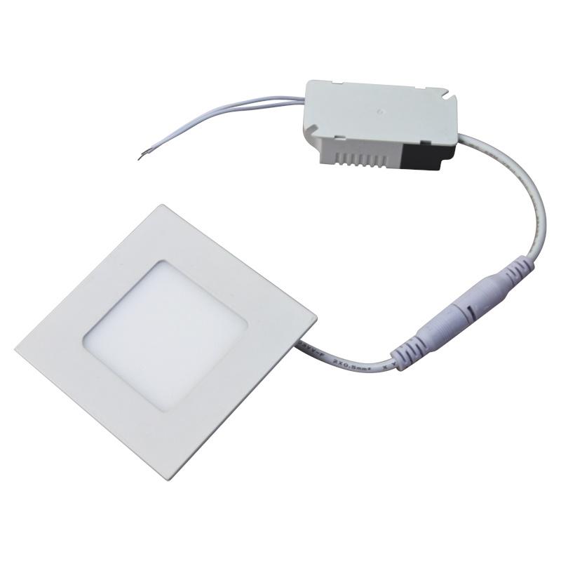 2016 Hot Sale Aluminum Ultra Thin Square and Round 3W 4W 6W 9W 12W 15W 18W LED Panel Light