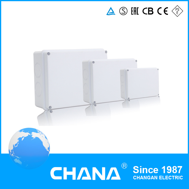 Water Proof Junction Box with ABS Material Material